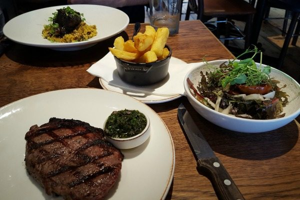 classic steak and chips at the coal shed in brighton
