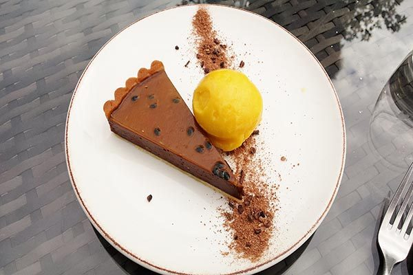 Chocolate tart, The Crabtree