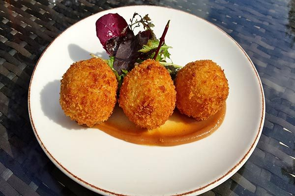 Crab arancini, The Crabtree