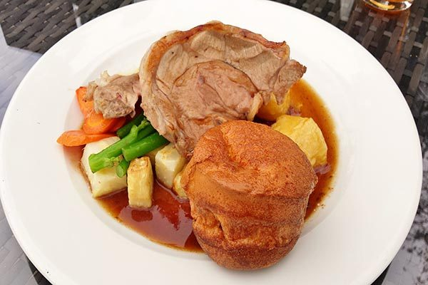 Roast lamb, The Crabtree