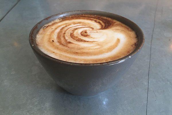 Cappuccino at Silo
