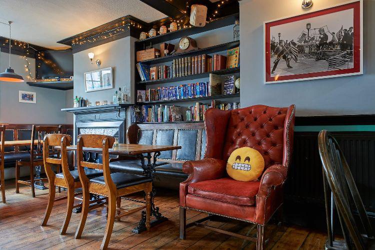 Bar at Caxton Arms Brighton