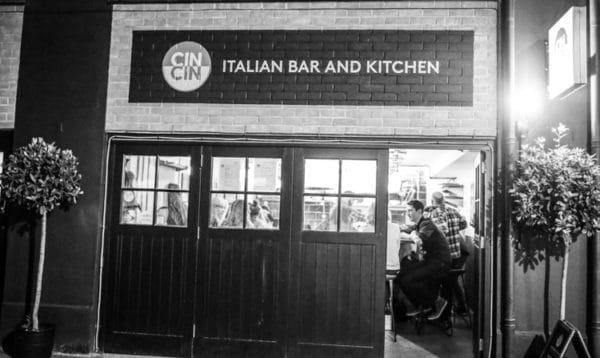 Cin Cin Brighton, North Laine