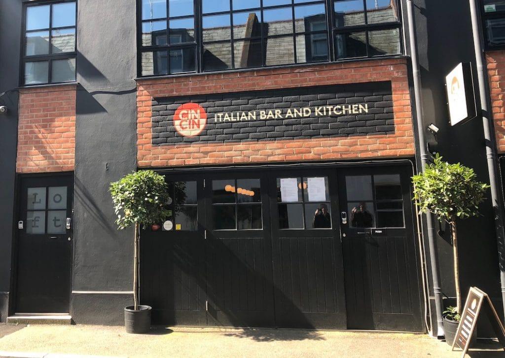 Cin Cin Restaurant Brighton