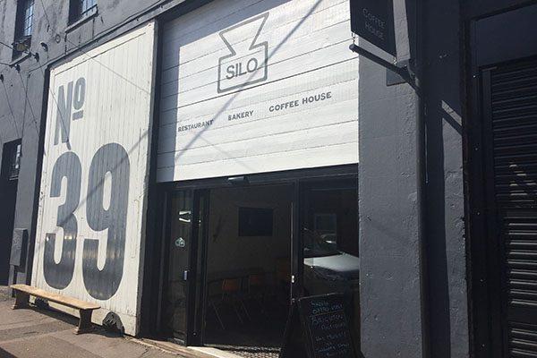 Exterior of Silo, Brighton's zero-waste restaurant/cafe