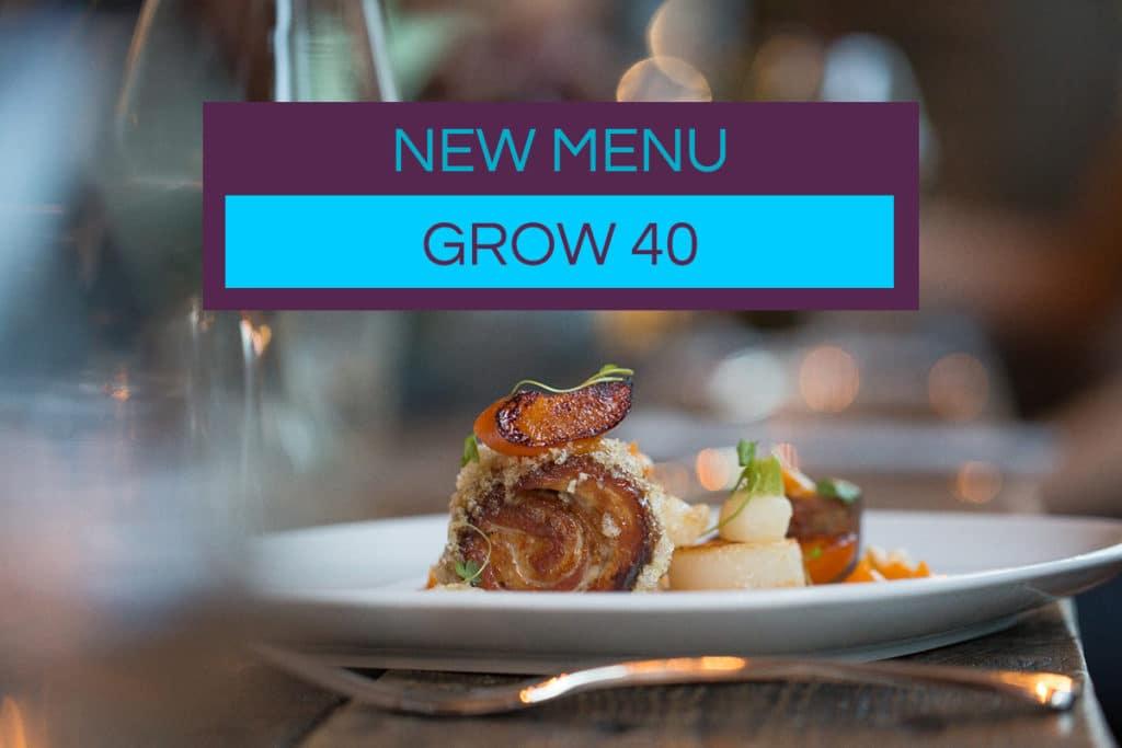Grow 40 Kensignton Gardens, restaurant Brighton