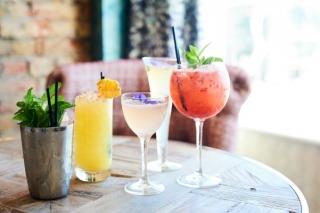 Cocktails at HarBar Brighton