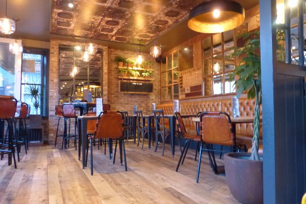 The inside of Libation Hove