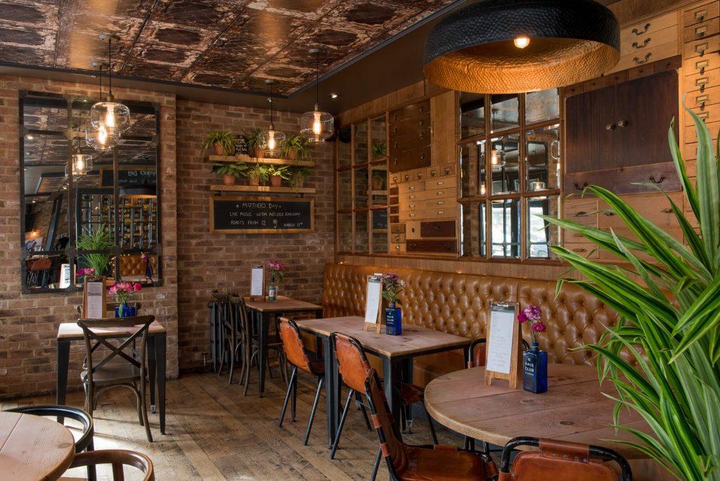 Interior at Libation Restaurants Brighton