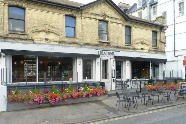 Libation eatery and bar, Hove