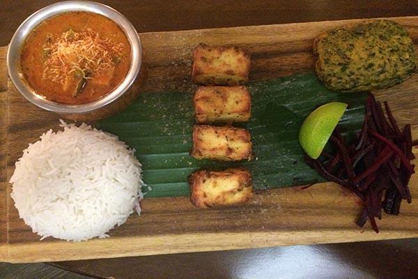 paneer - Indian Summer, vegetarian