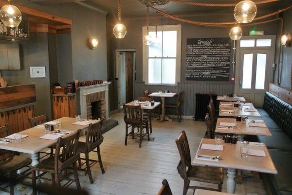 The Urchin Pub in Hove - Interior