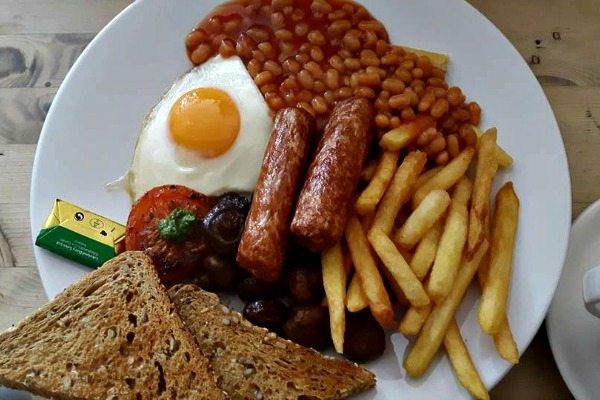 Vegetarian Breakfast Wai Kika Moo Kau