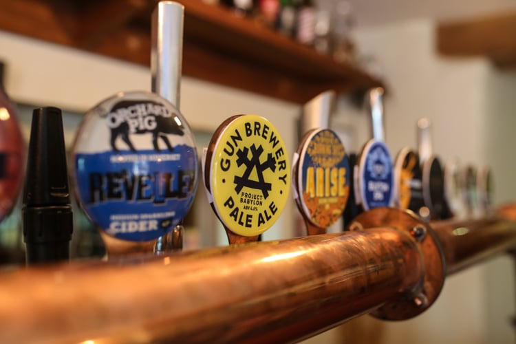 craft beer in Brighton - beer guide - Worthing Restaurants