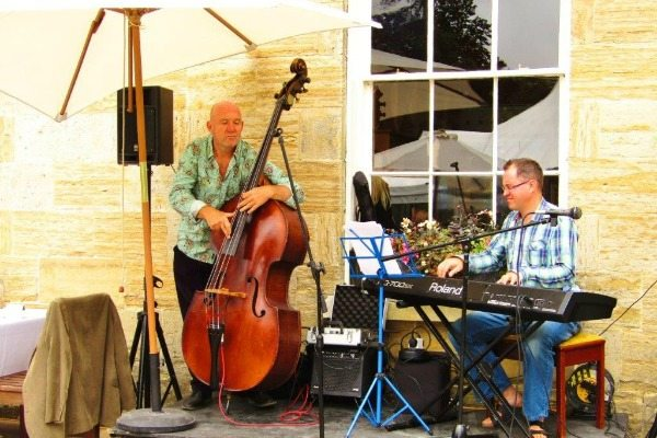live band at stanmer house