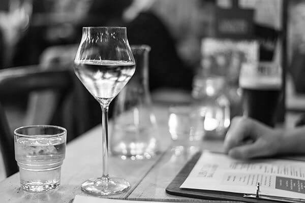 Wine at Libation, Hove