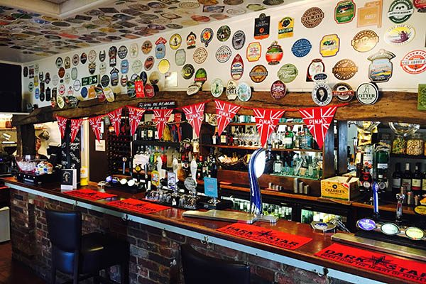 Inside The Sportsman Pub