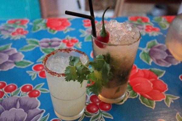 twists on some classic cocktails at carlito burrito