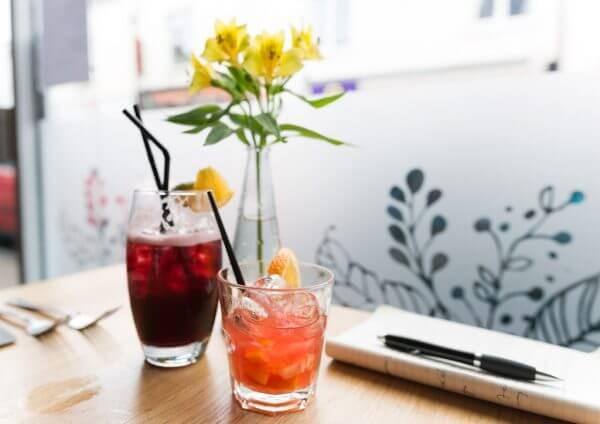 Cocktails at Semolina, Brighton