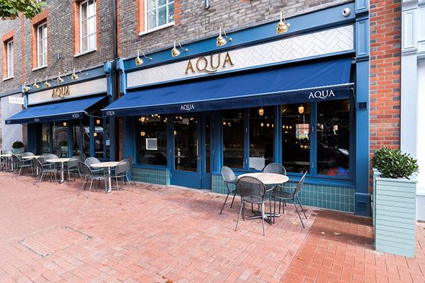 Aqua, Italian Restaurant, Lewes