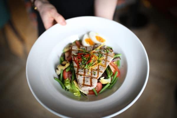 Tuna Steak, gluten free restaurants Brighton