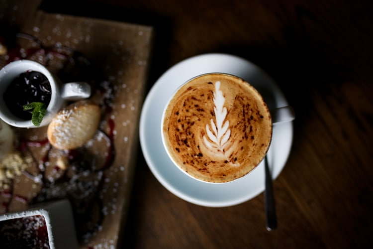 Coffee and Dessert at Aqua in Lewes - Serving one of the best breakfasts in Sussex