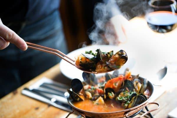Copper Clam Brighton Food - takeaway wine Brighton