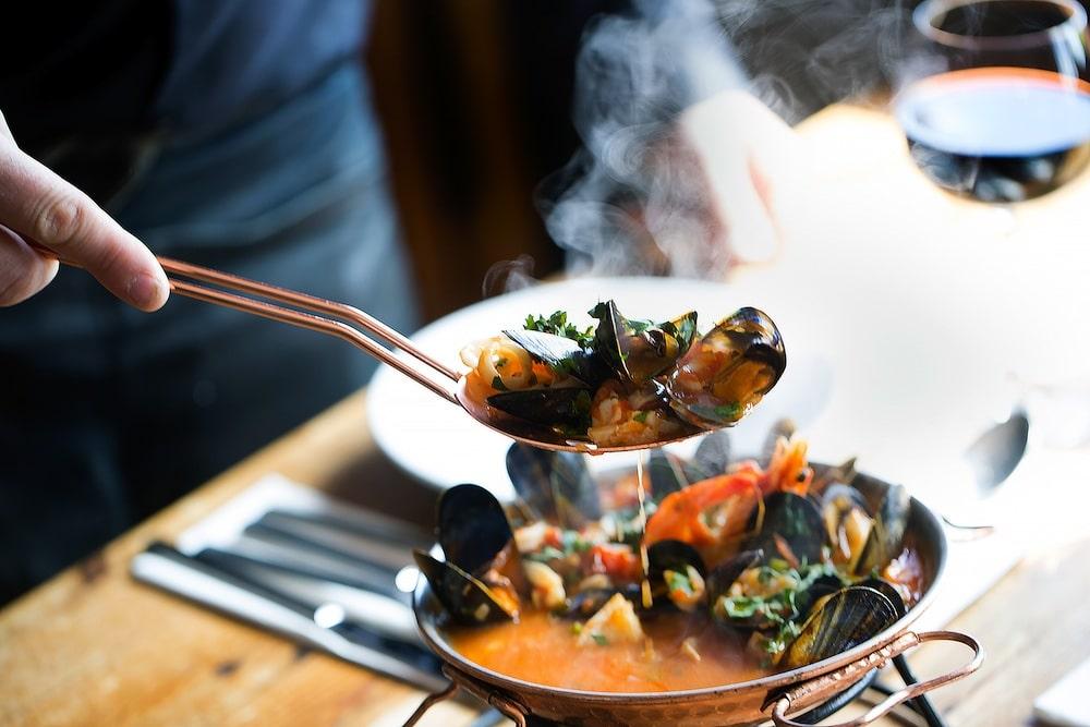Copper Clam Brighton Food