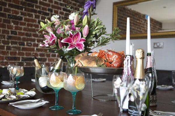Copper clam, private hire, seafood, restaurant, Brighton, seafront