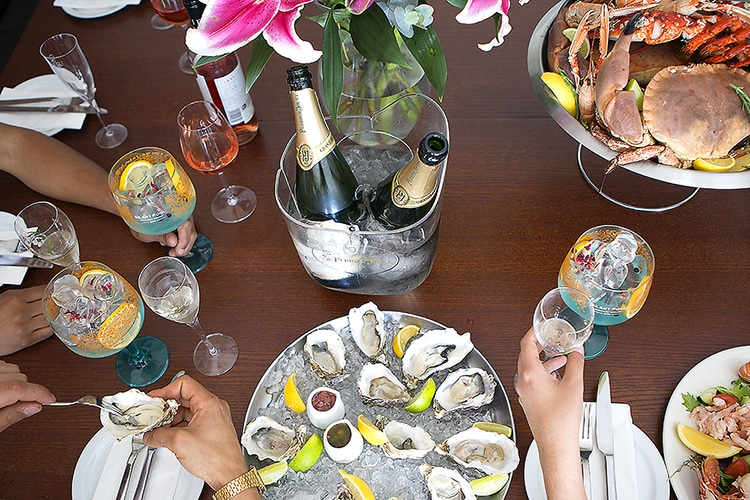 Copper clam, private dining, seafood, restaurant, Brighton, seafront