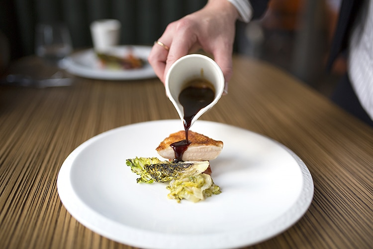 main dish, Etch., sauce, food, restaurant, fine dining, Hove