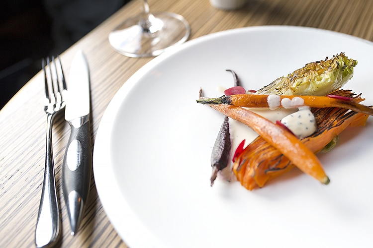 Carrots, meal, Etch., Hove, fine dining, restaurant