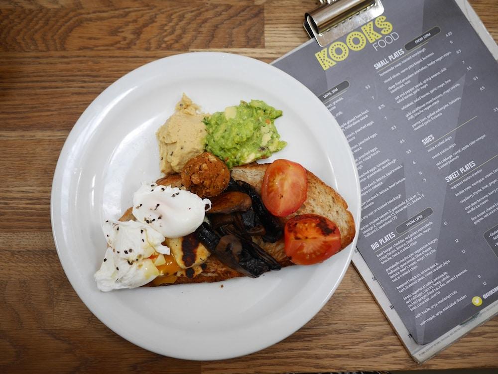 Kooks Veggie Breakfast Brighton