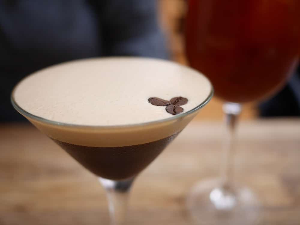 Espresso Martini at Kooks in Brighton