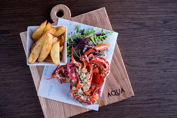 Lobster at Aqua, Italian Restaurant, Lewes
