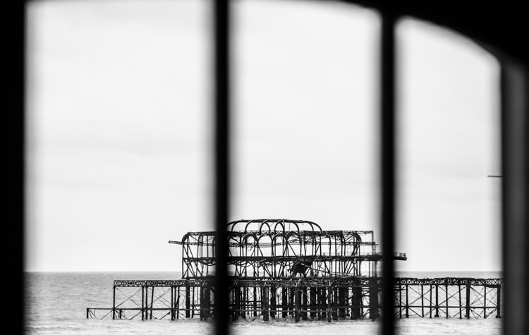 Teh West Pier, opposite The Copper Clam