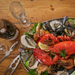 Seafood platter - The Copper Clam, Seafood Restaurant, Brighton Seafront, Fish