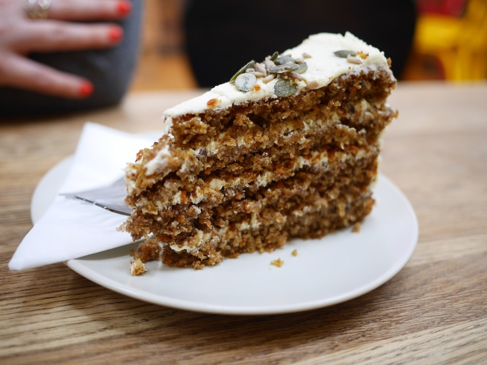 Vegan Carrot Cake Brighton Kooks
