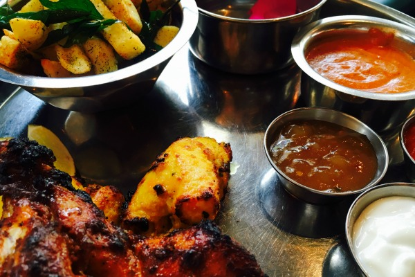 childs thali at the chilli pickle