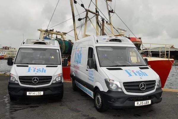 Brighton & Newhaven Fish Sales, Brighton, Shoreham Harbour
