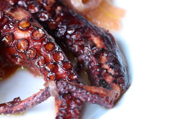 Octopus at Dina's Kitchen in Brighton