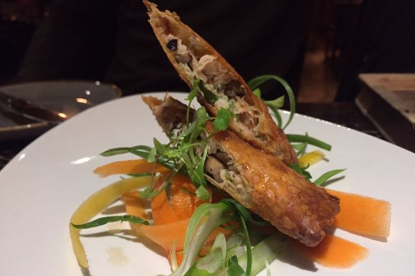 Asian Spring Roll at Shepherd and Dog Fulking