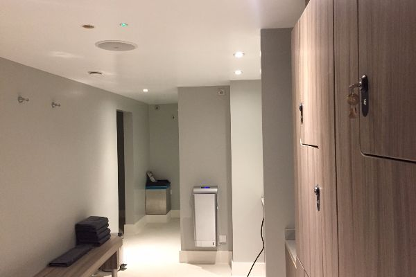 Changing Room at The Jetty Spa, Brighton