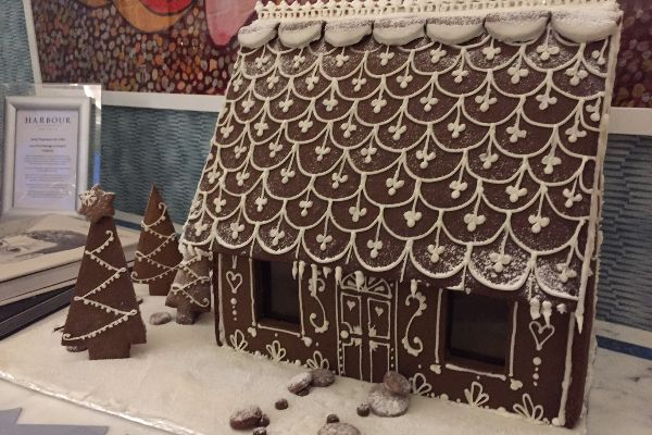 Gingerbread House at The Jetty Spa, Brighton
