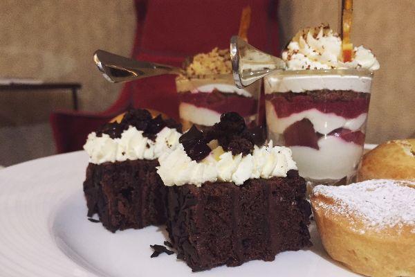 Cakes at the Jetty Brighton