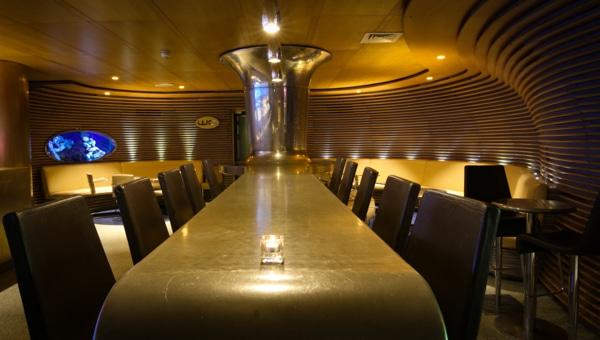 Business Meetings Brighton, Design led interior, high table - Merkaba, cocktail bar, Brighton, MyHotel, MyBrighton