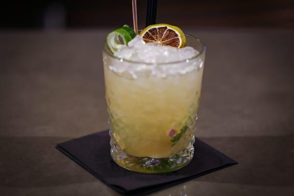 Cocktail on table - Merkaba, cocktail bar, Brighton, MyHotel, MyBrighton