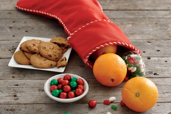 Christmas Food Facts - Tangerines in Stocking