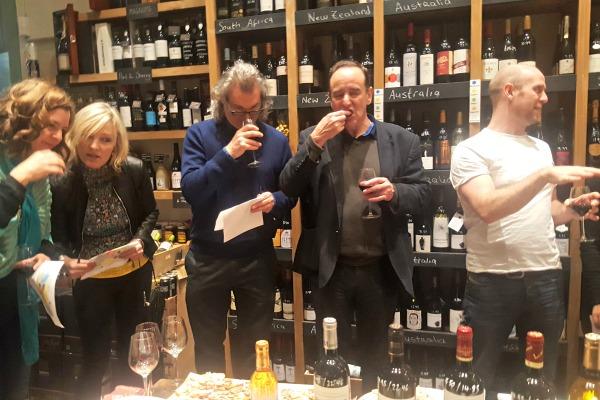 people-tasting at seven cellars