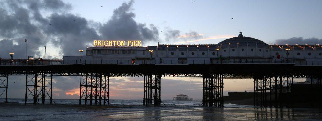 Brighton Pier, Seafront, Beach
